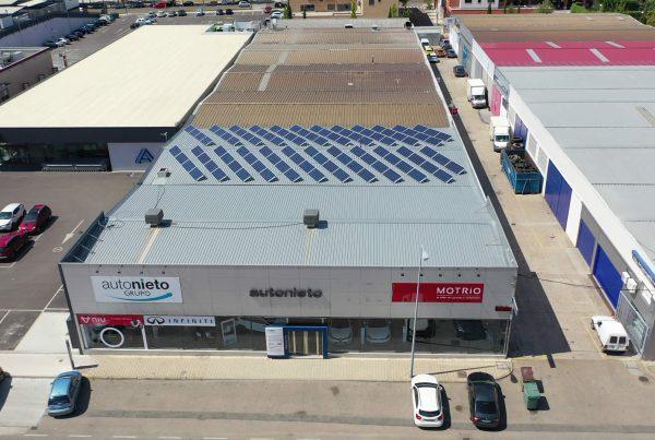 Instalación de autoconsumo fotovoltaico en la empresa AD Recur, Valladolid - EDF SOLAR