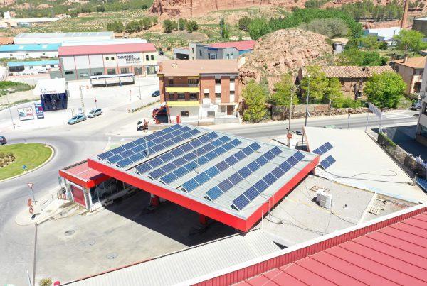 Instalación de autoconsumo en Lubricantes Paricio, Teruel - EDF SOLAR