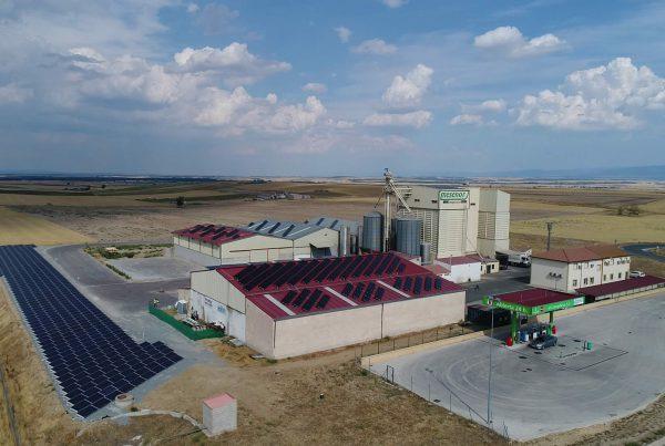 Instalación de autoconsumo industrial en Mesenor, Segovia - EDF SOLAR