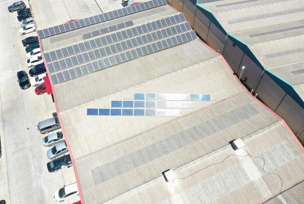 Instalación de autoconsumo industrial en Paté 3 Lises, Logroño - Eidf Solar