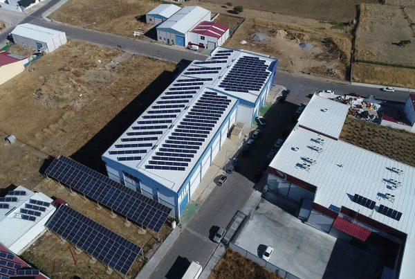 Instalación de autoconsumo fotovoltaico industrial en Pesacados Saraymar, Badajoz - Eidf Solar