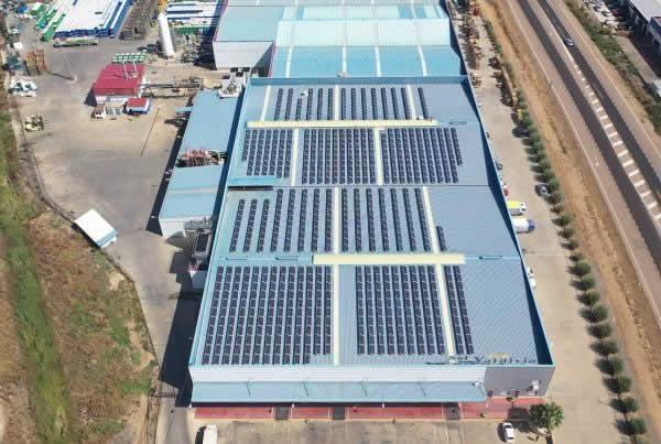 EDF Solar - Instalación de autoconsumo fotovoltaico en la empresa Sol de Valdivia, Badajoz
