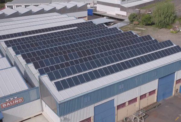 Instalación de autoconsumo industrial en Baliño, Pontevedra - Eidf Solar