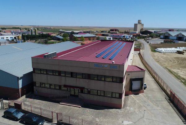 Instalación de autoconsumo industrial en Embutidos Caballo Blanco, Valladolid - EDF SOLAR