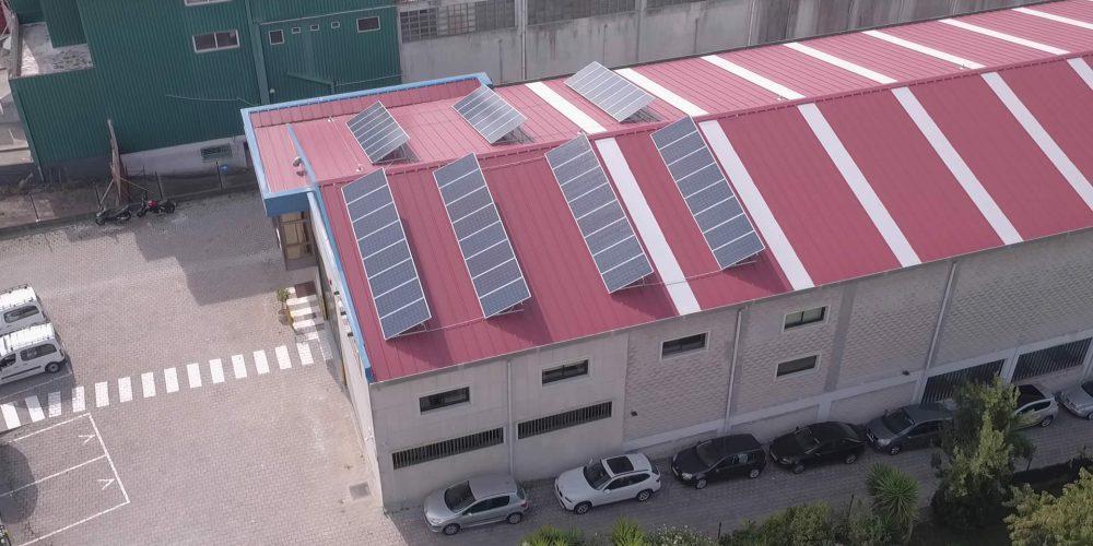 Instalación de autoconsumo en Emenasa Industria, Pontevedra - EDF SOLAR