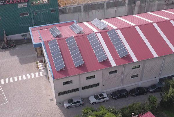 Instalación de autoconsumo en Emenasa Industria, Pontevedra - Eidf Solar