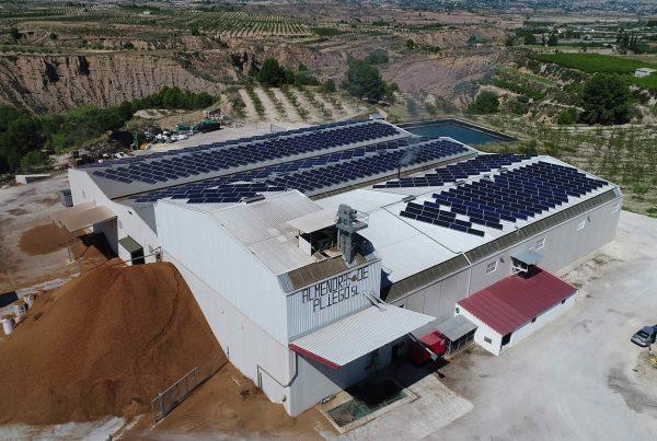 Instalación de autoconsumo en Almendras de Pliego, Murcia - EDF SOLAR