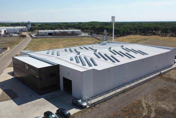 Instalación de autoconsumo fotovoltaico en CYDMA, Valladolid - EDF SOLAR