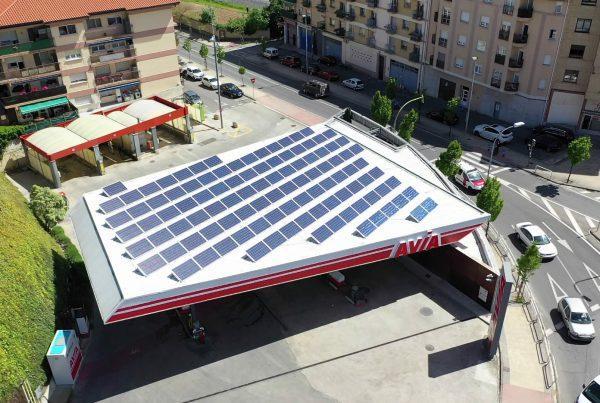 Instalación de autoconsumo en E.S. Avia Estella, Navarra - Eidf Solar