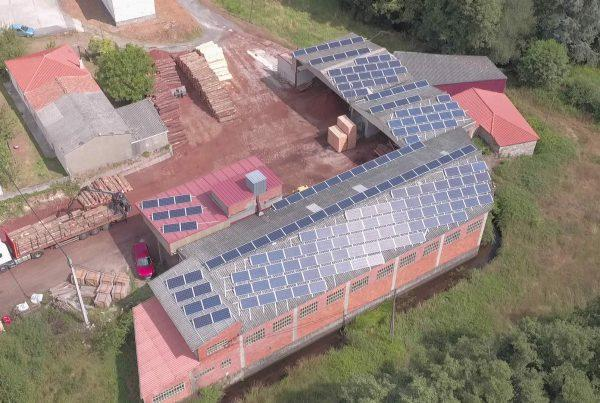 Instalación de autoconsumo en Maderas Varela Carnero, Lugo - EDF SOLAR