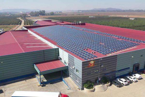 Instalación de autoconsumo fotovoltaico en Sol de Badajoz - EDF SOLAR