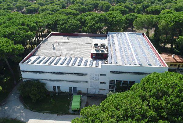 Instalación de autoconsumo fotovoltaico en Virto Industrial, Valladolid - EDF SOLAR