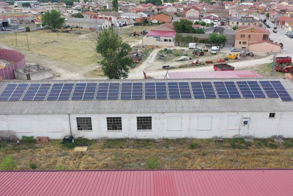 Instalación de autoconsumo en Fresh Gourmet, Segovia - EDF SOLAR