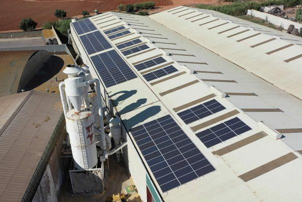 Instalación de autoconsumo en Maderas Induasuar, Cartagena, Murcia - Eidf Solar