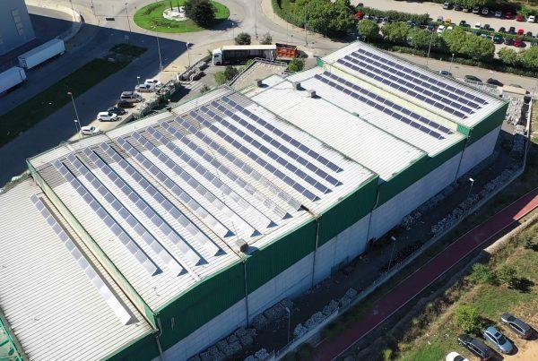 Instalación de autoconsumo fotovoltaico en Vaersa Picassent, Valencia - EDF SOLAR
