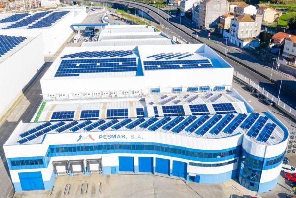 Instalación de autoconsumo en Pesmar, Galicia - Eidf Solar