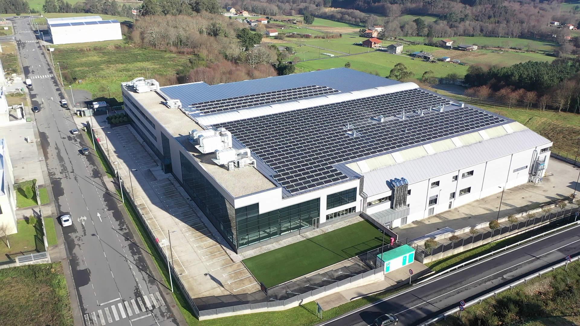 Instalación de autoconsumo industrial en Carpintería Ramón García, A Coruña - EDF SOLAR