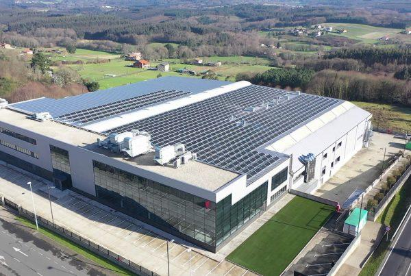 Instalación de autoconsumo industrial en Carpintería Ramón García, A Coruña - Eidf Solar
