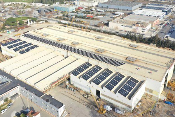 Instalación de autoconsumo fotovoltaico industrial en SHCM, Tarragona - Eidf Solar