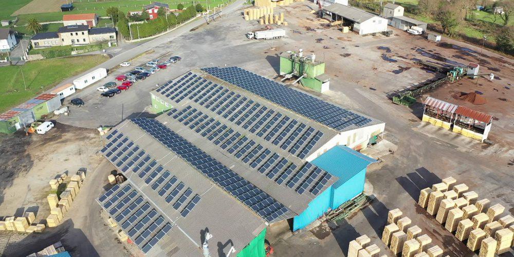 Instalación de autoconsumo en Grupo Costiña, Lugo - EDF SOLAR