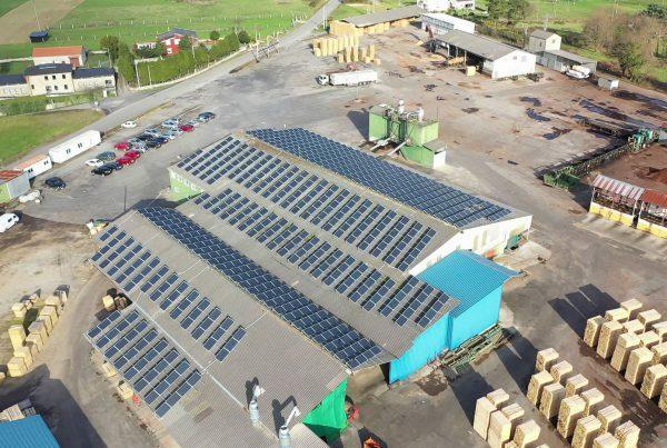 Instalación de autoconsumo en Grupo Costiña, Lugo - Eidf Solar
