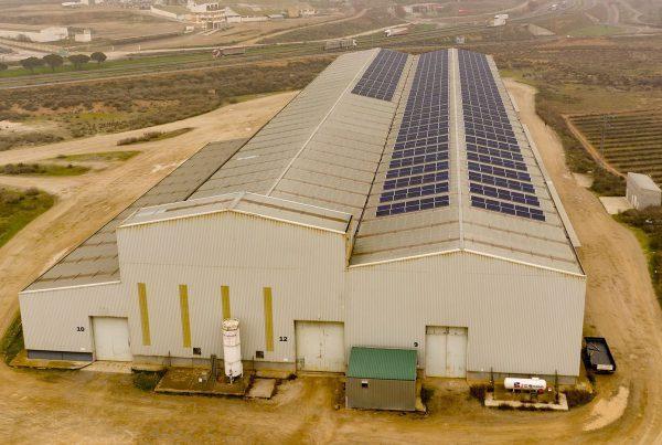 Instalación de autoconsumo industrial en Horfasa, Lleida - Eidf Solar