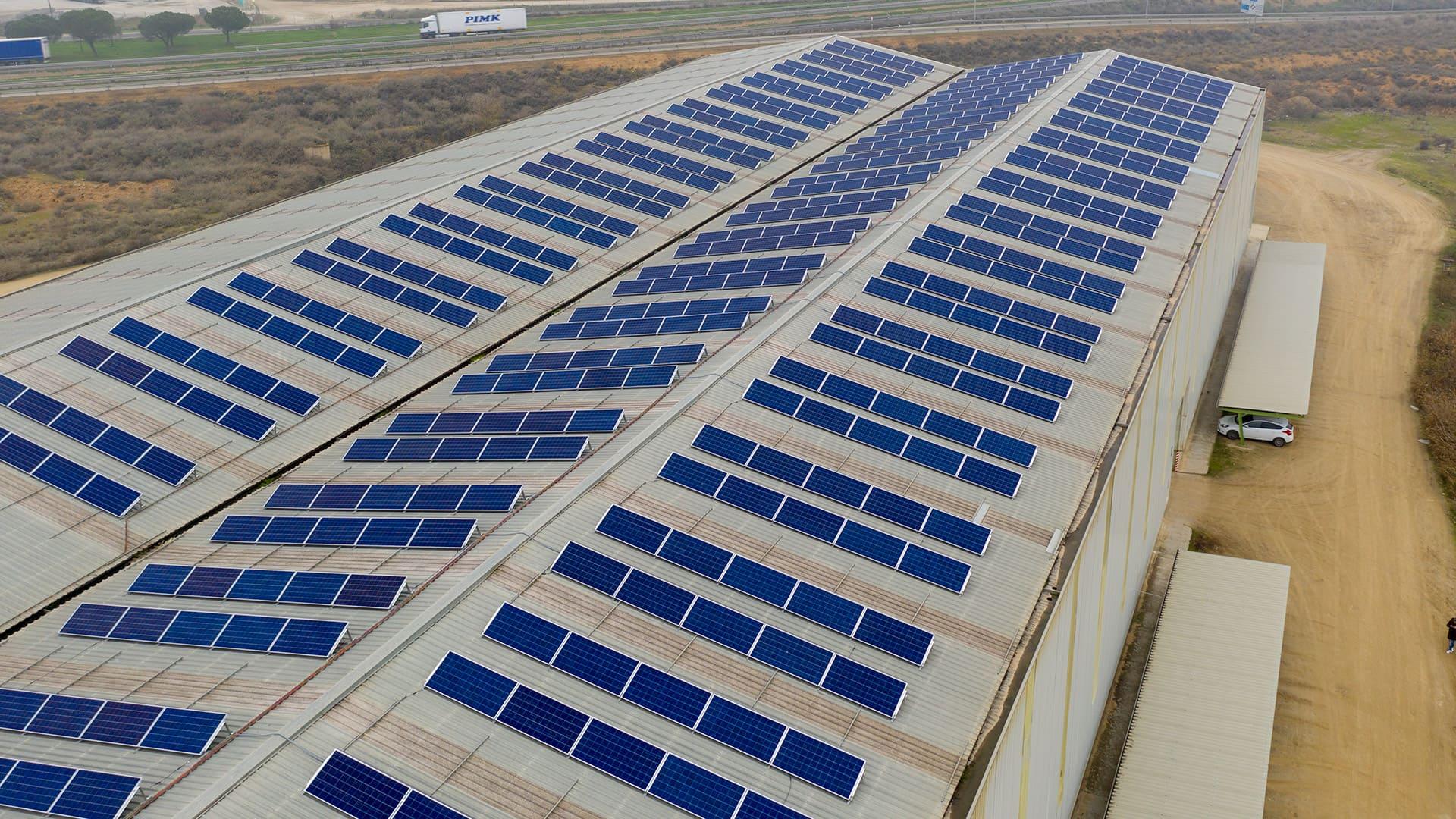 Instalación de autoconsumo industrial en Horfasa, Lleida - EDF SOLAR