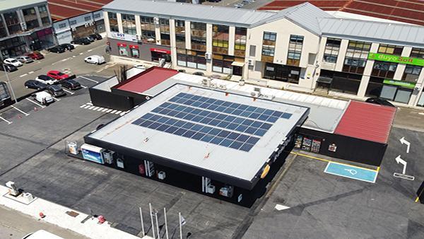 Instalación de autoconsumo eléctrico en estación de servicio - Eidf Solar