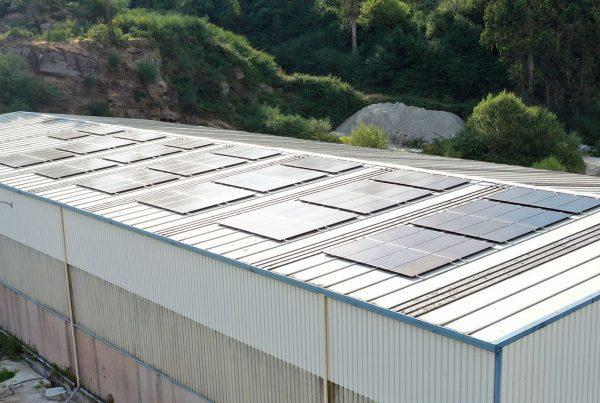Instalación autoconsumo fotovoltaico en Granitos do Umia-EDF Solar