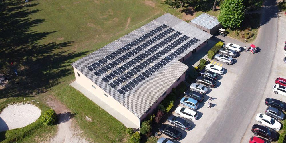 Instalación de autoconsumo fotovoltaico en Hércules Club de Golf, A Coruña - EDF SOLAR