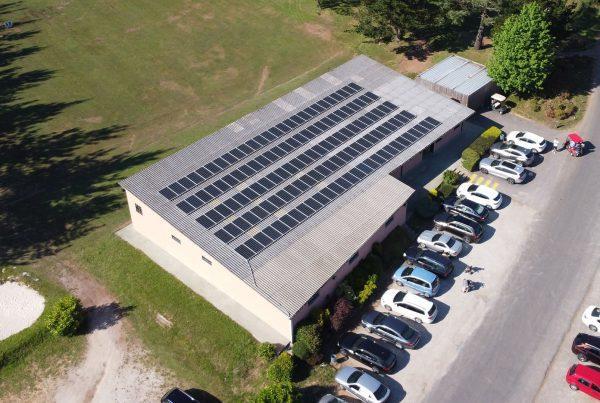 Instalación de autoconsumo fotovoltaico en Hércules Club de Golf, A Coruña - Eidf Solar