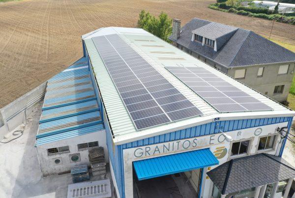 Instalación de autoconsumo eléctrico en Mármoles Eo- EDF Solar
