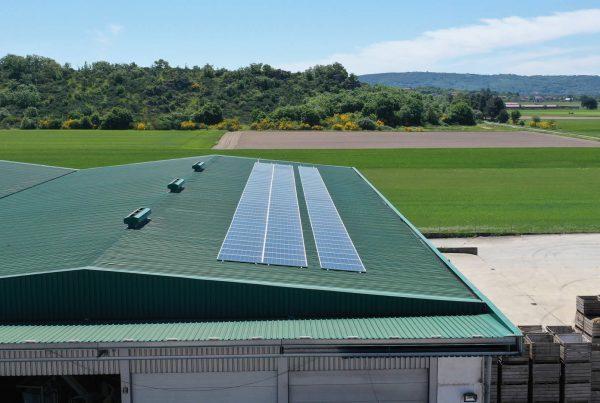 Instalación autoconsumo fotovoltaico en Patatas Guerra-EDF Solar
