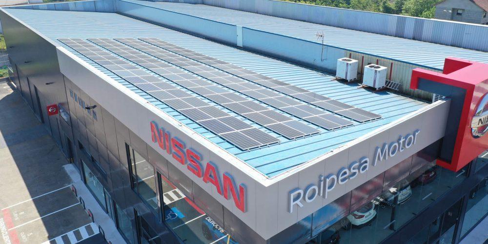 Instalación de autoconsumo en Roipesa Motor, Pontevedra - EDF SOLAR