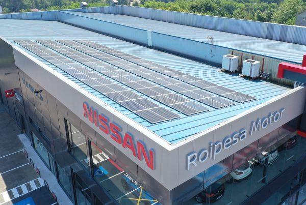 Instalación de autoconsumo en Roipesa Motor, Pontevedra - Eidf Solar