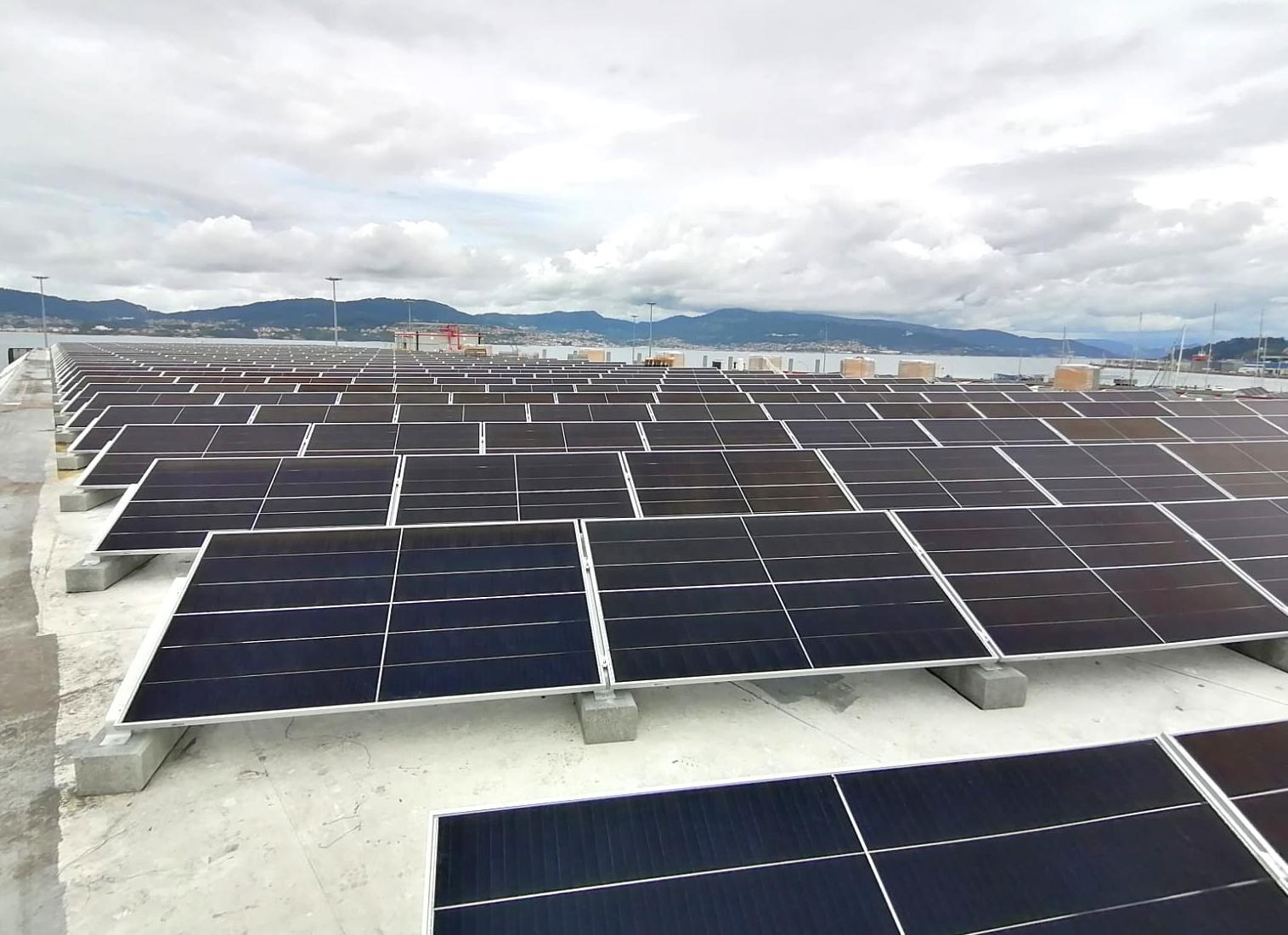 Instalacion autconsumo fotovoltaico en Iberconsa-EDF SOLAR