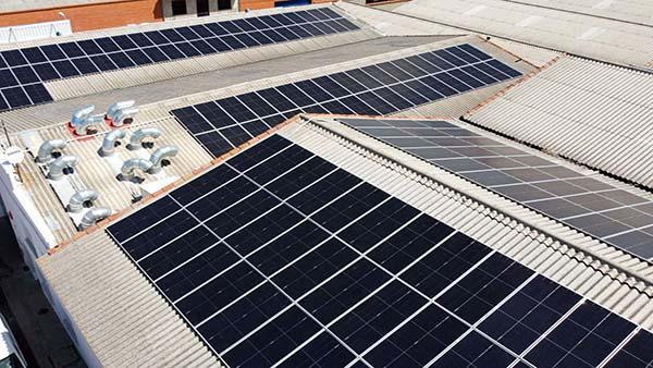 Instalación de autoconsumo fotovoltaico en Congelados José Luis (Castilla y León) - Eidf Solar