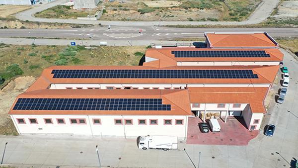 Instalación de autoconsumo fotovoltaico en Iberlinares (Castilla y León) - EDF Solar