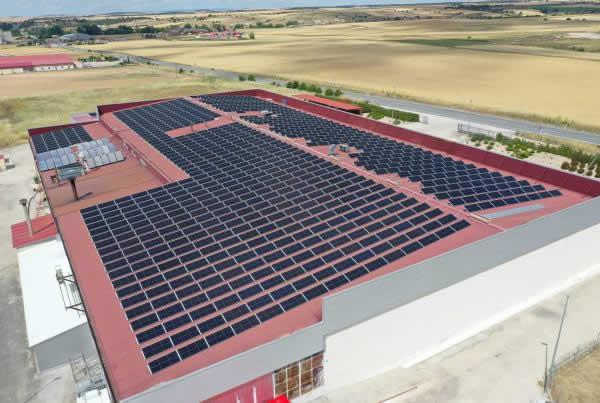 EDF SOLAR - Instalación de autoconsumo industrial en la empresa Cárnicas Martín Martín