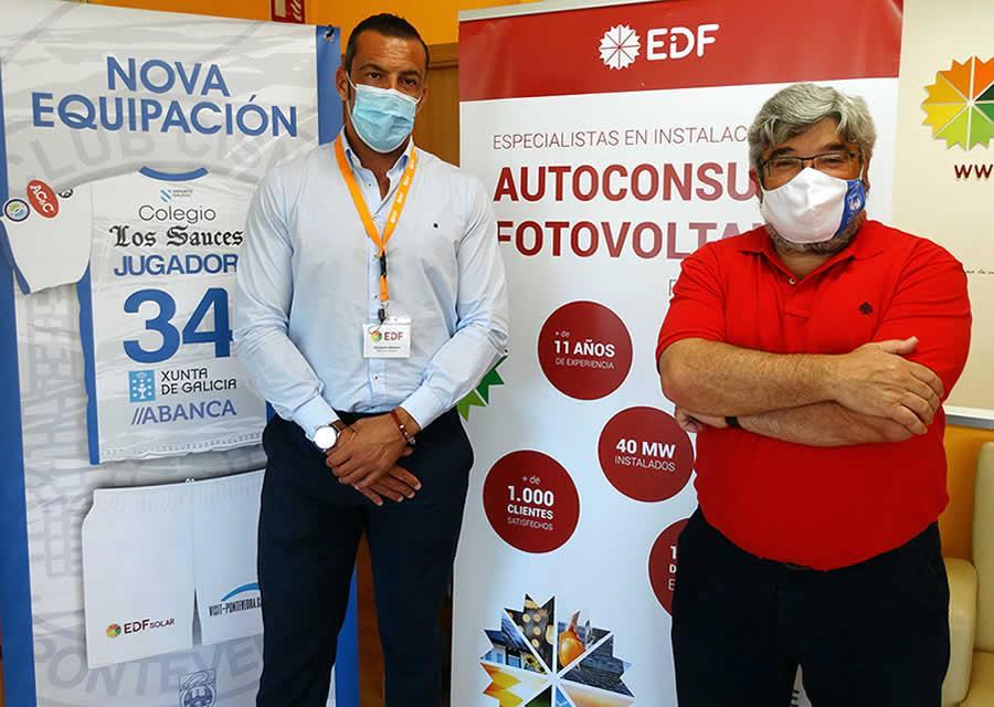 EDF Solar, patrocinador oficial del Club Cisne Balonmano