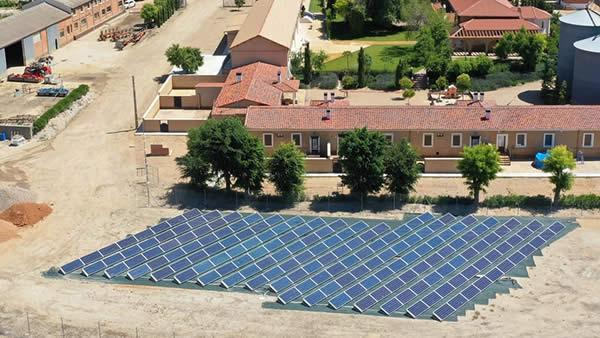EDF SOLAR - Instalación de autoconsumo fotovoltaico en Agropecuaria Cirajas