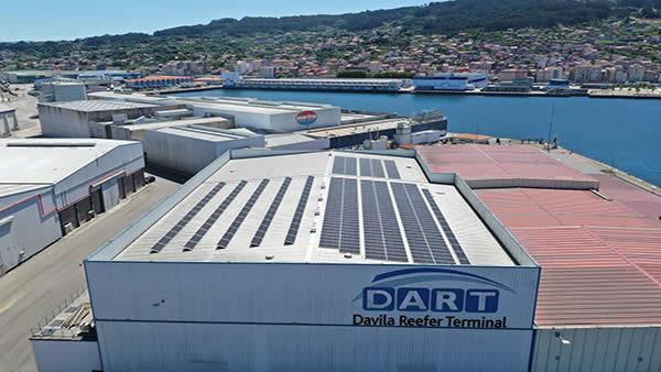 Eidf Solar - Instalación de autoconsumo en Davila Reefer, Pontevedra