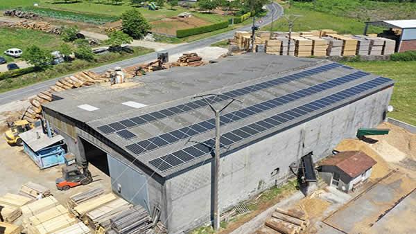 EDF SOLAR - Instalación de autoconsumo fotovoltaico en Maderas López