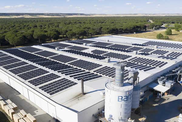EDF SOLAR - Instalación de autoconsumo industrial en la empresa Puertas Bamar