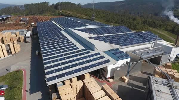 Planta de autoconsumo industrial fotovoltaico