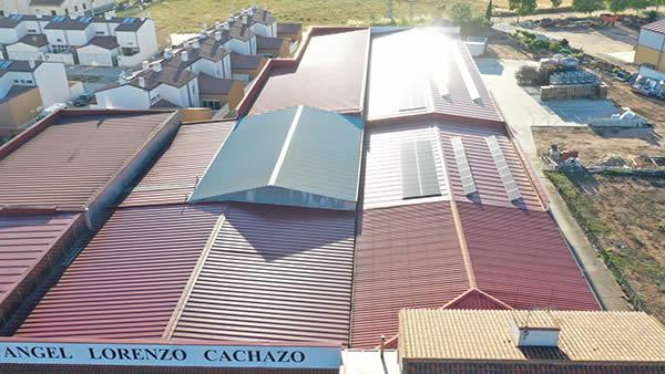 EDF SOLAR - Instalación de autoconsumo en Bodegas y Viñedos Ángel Lorenzo Cachazo