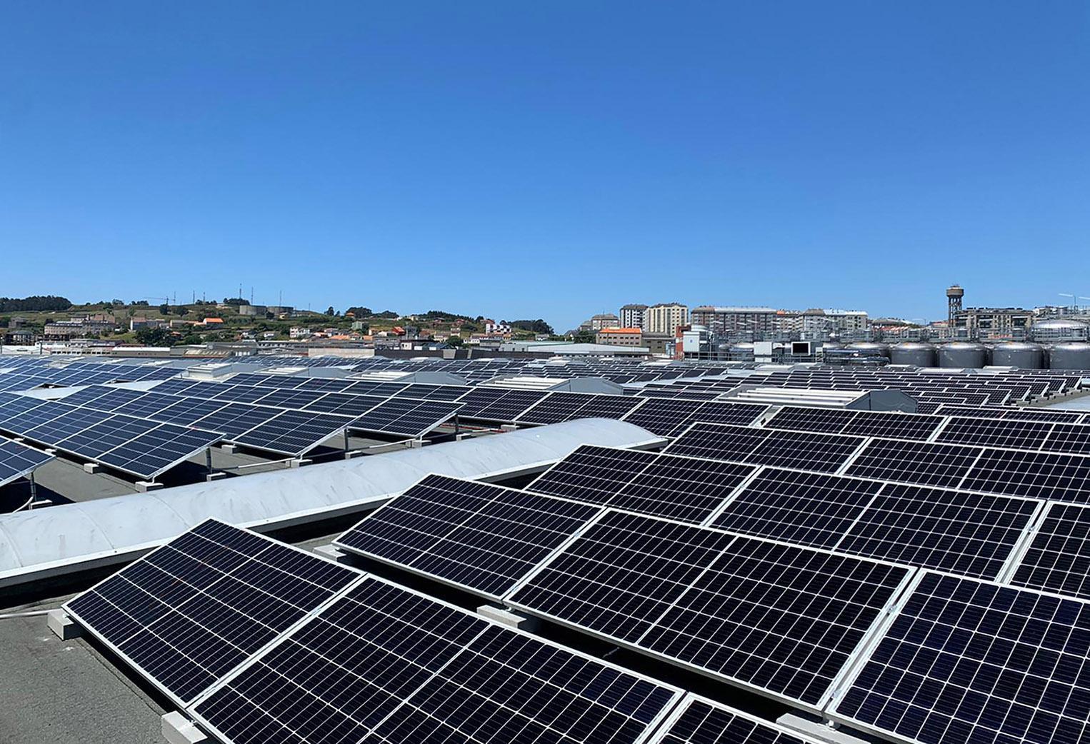 Eidf Solar desarrolla una instalación de autoconsumo fotovoltaico para Estrella Galicia
