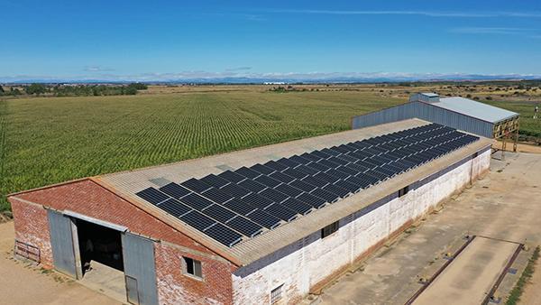 Instalación de autoconsumo fotovoltaico en Agrocat | EDF Solar