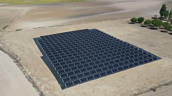 Instalación de autoconsumo fotovoltaico en Spanpetrol