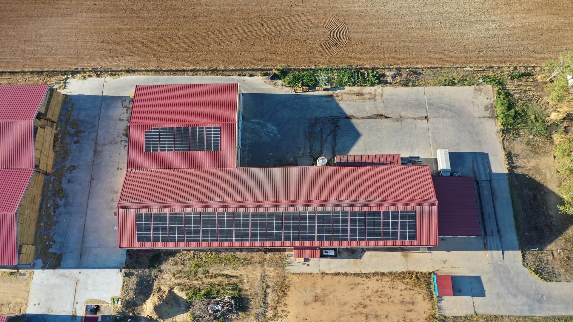 Instalación de autoconsumo fotovoltaico en Cooperativa de Valmoro | Eidf Solar